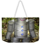 Over The Rainbow Garden Tin Man Weekender Tote Bag