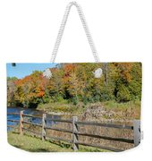 Over The River And Into The Through The Woods  Weekender Tote Bag
