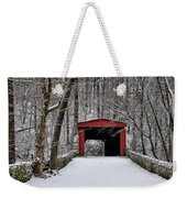 Over The River And Through The Woods Weekender Tote Bag