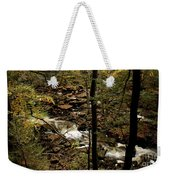Over The River And Thru The Wood Weekender Tote Bag
