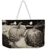 Overdue Fall Feast Remains Weekender Tote Bag