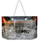 Overflow At The One Mile Weekender Tote Bag