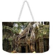 Overgrown Jungle Temple Tree  Weekender Tote Bag