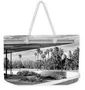 Overhang Bw Palm Springs Weekender Tote Bag by William Dey