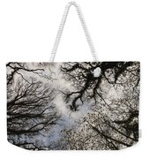 Overhead Trees In Exmoor, United Kingdom Weekender Tote Bag