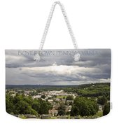 Overlooking Boyertown Weekender Tote Bag