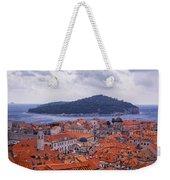 Overlooking Dubrovnik Weekender Tote Bag