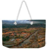 Overlooking Durango Weekender Tote Bag