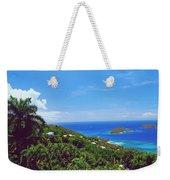 Overlooking Paradise Weekender Tote Bag