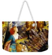 Overthrowing Of The Rusty Knight  Weekender Tote Bag