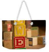 Owen - Alphabet Blocks Weekender Tote Bag