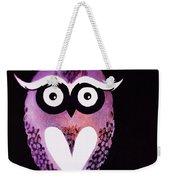 Owl 3 Weekender Tote Bag