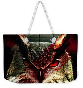 Owl By Day Owl By Night Weekender Tote Bag
