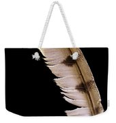 Owl Feather Weekender Tote Bag