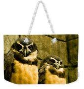 Owl I Weekender Tote Bag