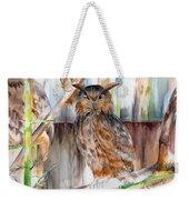 Owl Series - Owl 2 Weekender Tote Bag