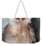 Owl Weekender Tote Bag by Sherry Harradence
