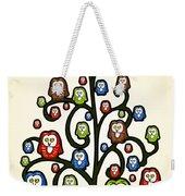Owl Tree Weekender Tote Bag