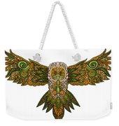 Owl Yellow Weekender Tote Bag
