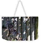 Owls Weekender Tote Bag
