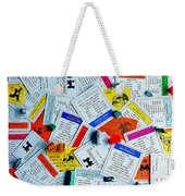 Own It All Weekender Tote Bag by Benjamin Yeager