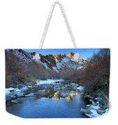 Owyhee River Reflection Desert Light Weekender Tote Bag
