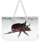 Ox Beetle Weekender Tote Bag