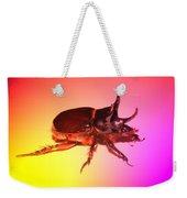 Ox Beetle In Color Weekender Tote Bag