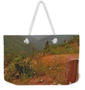 Ox-eye Daisies On Skyline Trail In Cape Breton Highlands Np-ns Weekender Tote Bag