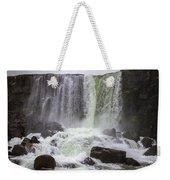 Oxarafoss Waterfall Weekender Tote Bag