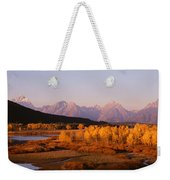 Oxbow Bend Grand Teton National Park Wy Weekender Tote Bag