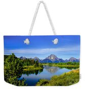 Oxbow Bend Weekender Tote Bag by Robert Bales