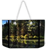 Oxbow Triptych Weekender Tote Bag