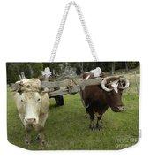 Oxen Weekender Tote Bag