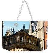 Oxford Bridge Of Sighs Weekender Tote Bag