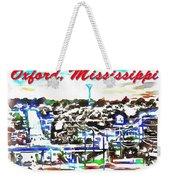 Oxford Mississippi 38655 Weekender Tote Bag
