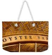 Oyster Bar Weekender Tote Bag