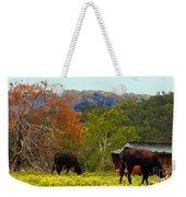 Ozark Cows Weekender Tote Bag