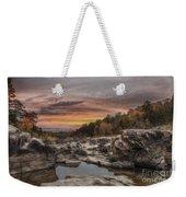 Ozark Mountain Stream Weekender Tote Bag