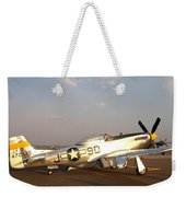 P-51 Mustang Fighter Aircraft Weekender Tote Bag