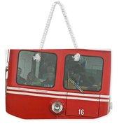 P P Cog Train Weekender Tote Bag
