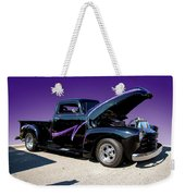 P P - Purple Pickup Weekender Tote Bag