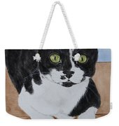 Pablo The Cat Weekender Tote Bag