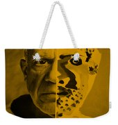 Pablo Orange Weekender Tote Bag