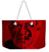 Pablo Red Weekender Tote Bag