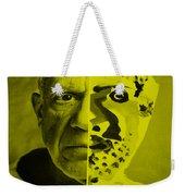 Pablo Yellow Weekender Tote Bag