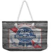 Pabst Blue Ribbon Beer Weekender Tote Bag
