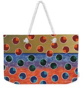 Pacman Zombies Awaking At Sun-rise Weekender Tote Bag