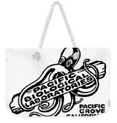 Pacific Biological Laboratories Of Pacific Grove Circa 1930 Weekender Tote Bag