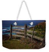 Pacific Coast Fence Weekender Tote Bag